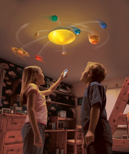 Solar System Night Light Image
