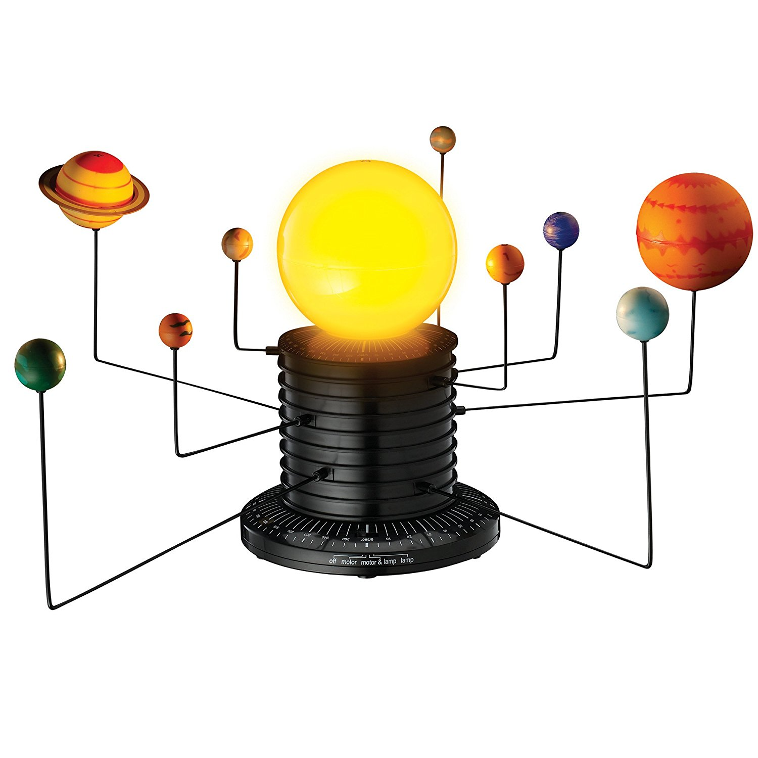 Educational Motorized Solar System Image