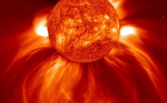 The Most Powerful Solar Eruption in The Last 12 Years