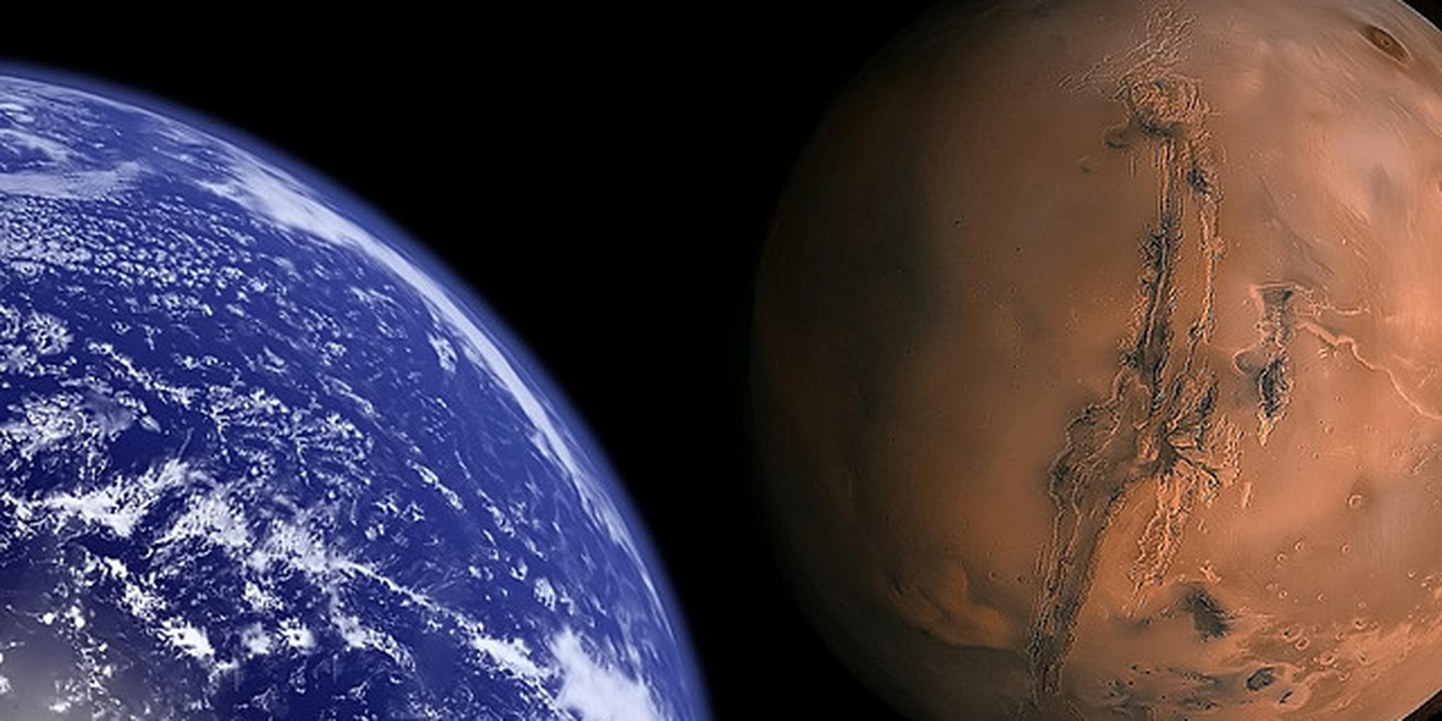 far mars earth