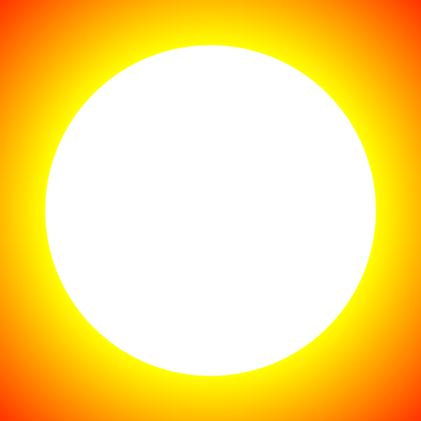 why sun is circle