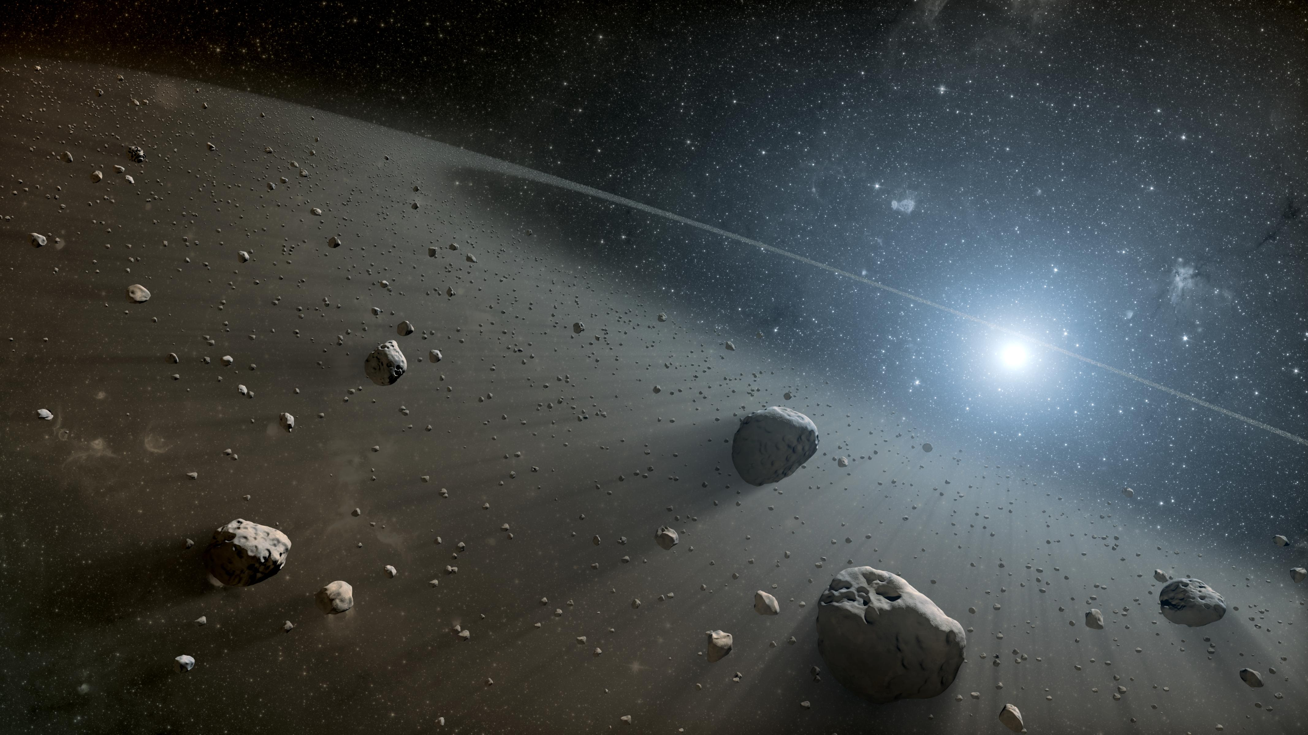origin asteroids