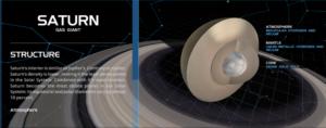 interactive model solar system