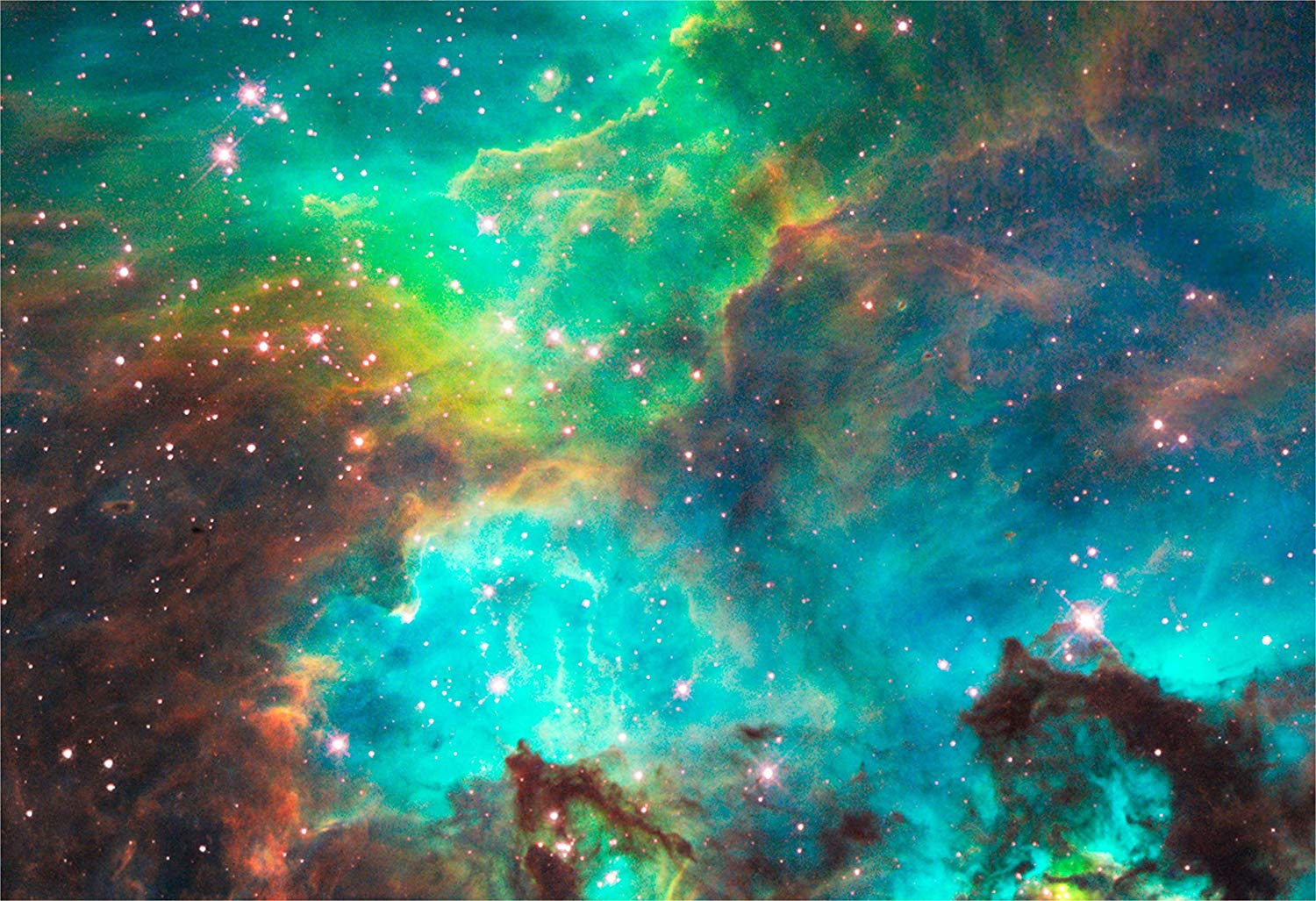 Star Cluster NGC 2074 in the Large Magellanic Cloud Image