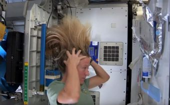 That's How Astronauts Wash Their Hair in Space