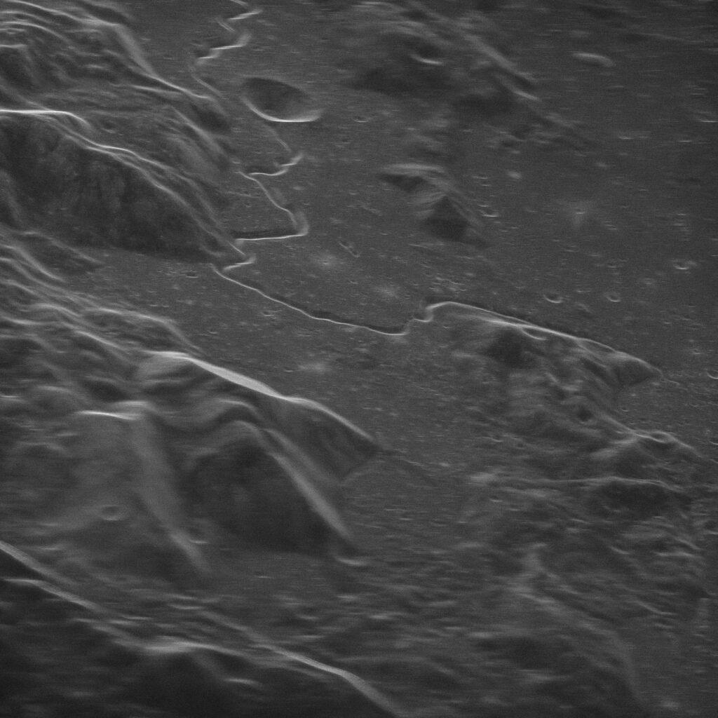 Moon's surface Apollo 15