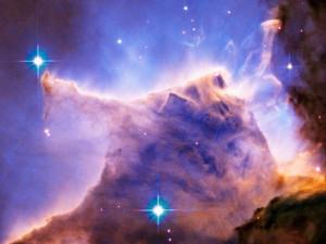 Eagle Nebula (M16) Pillar Detail Portion of Top