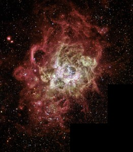 Firestorm of Star Birth in Galaxy M33