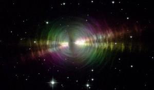 Rainbow Image of the Egg Nebula