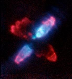 The Egg Nebula (CRL 2688) in Infrared Light