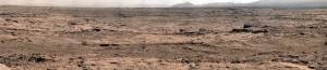 Mars Curiosity Rover Rocknest Panorama